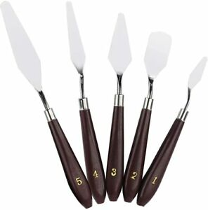Palette Knife Pallette Knifes Pallet Knife Palette Knives Pointing Tool (5 Set)