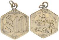 Messingklippe O.J.Esagonale 1900/1901 Colonie / § 11 (49728)