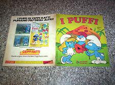 ALBUM I PUFFI PANINI 1983 COMPLETO ORIGINALE OTTIMO SERIE TV NO CALCIATORI