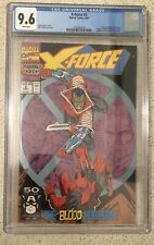 X-Force #2 CGC 9.6 White Pages - 1st Weapon X
