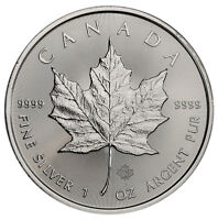 2019 Canada 1 oz. Silver Maple Leaf $5 Coin GEM BU SKU55534