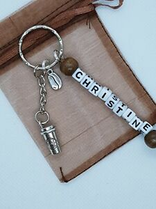 Personalised coffee Keyring, coffee gifts, coffe lover keyring, coffee cup