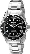 Invicta Men's 8932OB Pro Diver Submariner Analog Quarts Silver Gents Bracelet