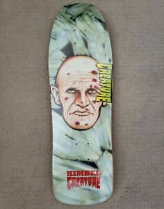 Creature Willis Kimbel Scratch a Tweaker Skateboard Deck