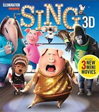 Sing 3D Blu Ray (Matthew McConaughey) Disc Only No Case Or Cover NEW