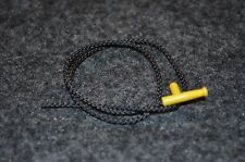 (1) Yellow Nozzle with attached Cord / Hose Bricks - NEW Lego Parts