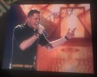 TRENT HARMON SIGNED 8X10 PHOTO AMERICAN IDOL WINNER W/COA+PROOF RARE WOW