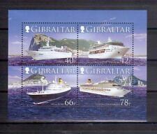 GIBRALTAR 2006 Cruise Boats min sheet MUH