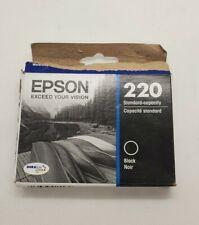 Epson 220 (T220120-S) Durabrite Ultra Black Ink Cartridge