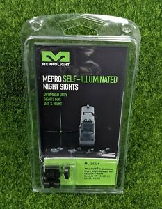 Meprolight Tru-Dot Adjust. Night Sight Set Glock 17/19/20/21/22/23/34/35 ML20224