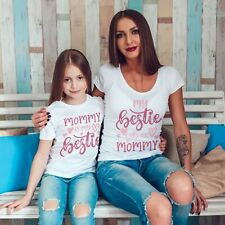 Mum /& Daughter Twinning Matching T-Shirts Outfit Minnie Mother/'s Day Gift Mouse
