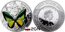 Niue Island 1 Dollar $ 2012 Butterflies - Ornithoptera Goliath Motyl