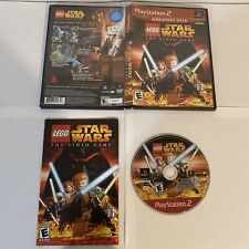 LEGO Star Wars: The Video Game PlayStation 2 Red Label Complete Authentic