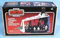 STAR WARS EMPIRE STRIKES BACK-DARTH VADER'S STAR DESTROYER sealed Kenner MINT