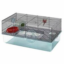 Favola Hamster Cage Includes Free Water Bottle Exercise Wheel Food Dish & Ham.