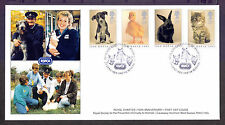 Cats Great Britain Official First Day Covers (1971-Now)