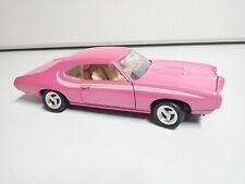 1/18 ERTL PEARL PINK 1969 PONTIAC GTO CAR - Barn Find