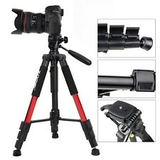 Zomei Professional Aluminium Tripod&Pan Head for Canon Nikon Camera Hiking Red