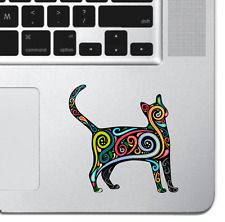 """Cat Kitten Art Sticker Vinyl Decal MacBook Pro Air 13"""" Sticker Laptop iPad Decal"""
