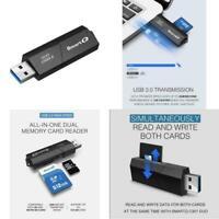 SmartQ C307 USB 3.0 Portable Card Reader For SD, SDHC, SDXC, MicroSD, MicroSDHC,