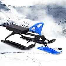 vidaXL Snow Racer Schlitten Bob Lenkschlitten Lenkbob Skibob Kinderschlitten