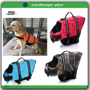 Pets Safety Swimming Suit Dog Life Vest Printed Life Pet Jacket Dogs Swimwear
