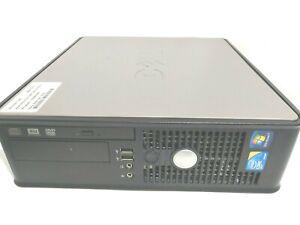DELL OPTIPLEX 780 COMPUTER PC INTEL CORE 2 DUO 3GHZ/250Gb/4Gb DISPLAY P Win 10