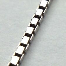 Sterling 925 Italy Silver Ladies Used Second Hand 16 inch Box Links Chain B576