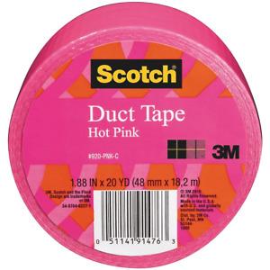 Scotch Duct Tape - Hot Pink - 48mm x 18.2m - Craft Decor DIY