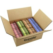 Crayola 528902 Classic 3000-Count Crayons : Blue, Red, Green & Yellow ~ NEW