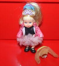Vintage Mattel Muñeca Barbie Bebé Krissy Sirena mágico cabello largo familia feliz 3'