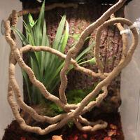 2m Reptile Vivarium Flexible Jungle Vine Flexible Bendable Pet Climb Habitat