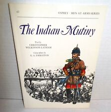 BOOK OSPREY Men-At-Arms MAA #67 The Indian Mutiny 1987 Ed op