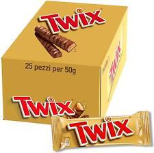 Twix Twin Chocolate Bar 50g (Pack of 25)
