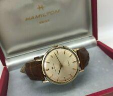 Vintage 9k 9ct solid gold Hamilton Mens Swiss Watch