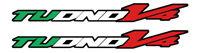 TP Stickers / Decals for Aprilia Tuono V4 (Italian Colours) /1034