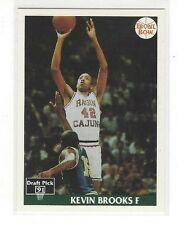 1991 FRONT ROW BASKETBALL KEVIN BROOKS #11 - SOUTHWESTERN LOUISIANA