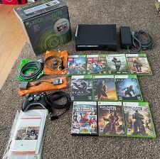 Microsoft Xbox 360 Elite Console Falcon 120Gb Black Plus 12 Games Original Box