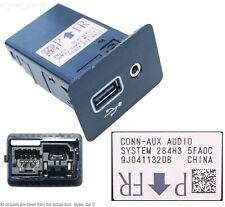 Genuine Nissan Qashqai J11 Micra MK5 2014-19 USB & AUX Socket Panel 284H35FA0C