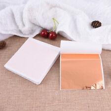 DIY 100 Sheets Gold Foil Leaf Leaf Gilding Handicrafts  Craft Paper DecorationNY
