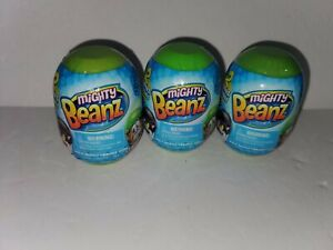 Lot of 3 Series 2 Mighty Beanz Mystery Pod/Pack 2  Beanz in each Pod NEW/Sealed