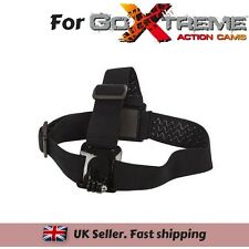 Adjustable Head Strap Mount for Action Cam GoXtreme Discovery Pioneer Rallye HD