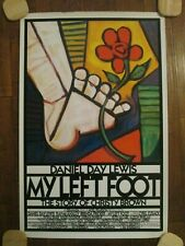 My Left Foot    - Original  1989   1sheet Movie Poster- Daniel Day Lewis