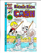"Richie Rich Cash  No 22 : 1978 :"" Fishing Cover! """