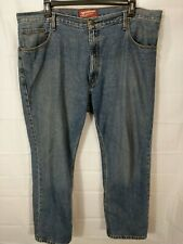 ARIZONA JEANS Big Men's Medium Wash Original Fit Straight Leg Jeans size 42x30