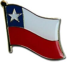 Chile Country Flag Bike Motorcycle Hat Cap lapel Pin