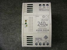 IDEC Power Supply Cat No. PS5R-SG24 Input 100-240V AC Output 24V DC 10Amp