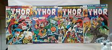 THE MIGHTY THOR issues #228 237 257 + 265(Marvel,1970s)God of Thunder!
