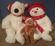 Beanies Winter Holiday Original TY Beanie Buddy Collection in lot
