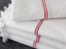 White Organic Towel 100% Cotton Baby Bath Towel / Blanket / Sauna Gym Towel Wrap